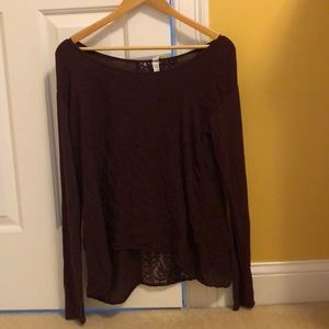 3 FOR $10 Aeropostale long sleeve top loose fit